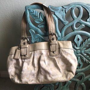 Coach handbag. Used
